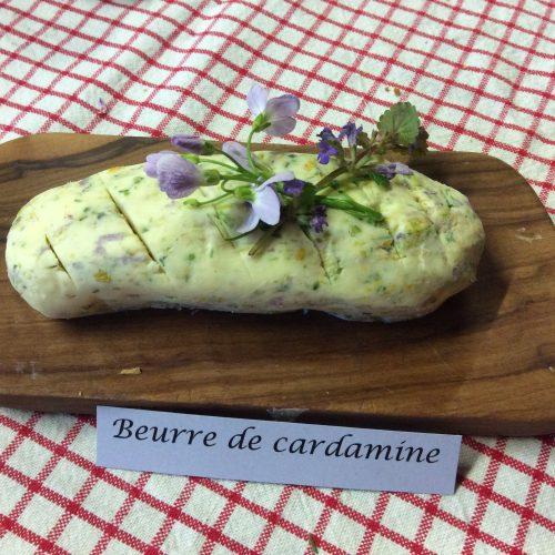 Le jardin de Gribouille - beurre fleuri