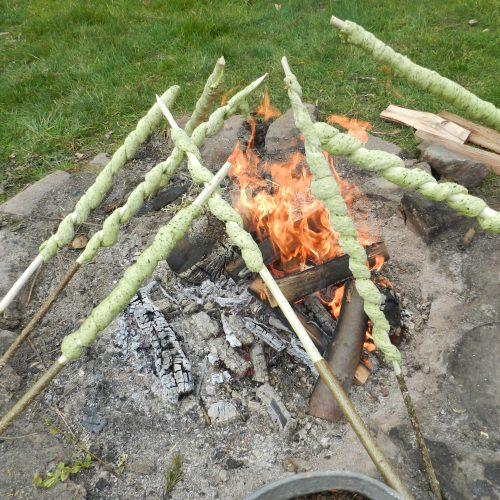 Le jardin de Gribouille - cuisine au feu de bois